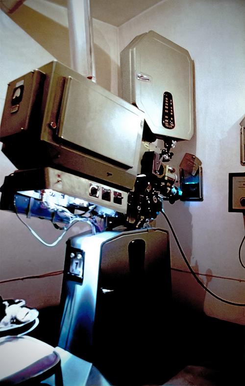 galleria immagini cinema teatro dante - proiettore microtecnica