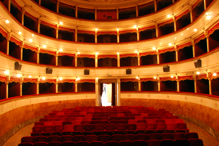 galleria immagini cinema teatro dante - vista da palcoscenico
