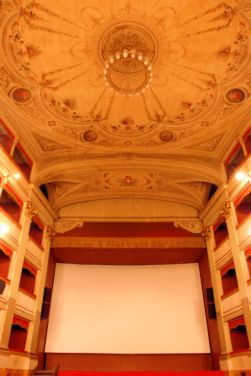 galleria immagini cinema teatro dante - vista secondo piamo