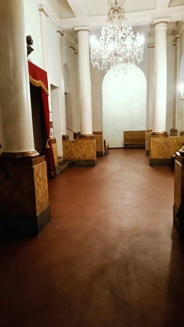 galleria immagini cinema teatro dante - foyer