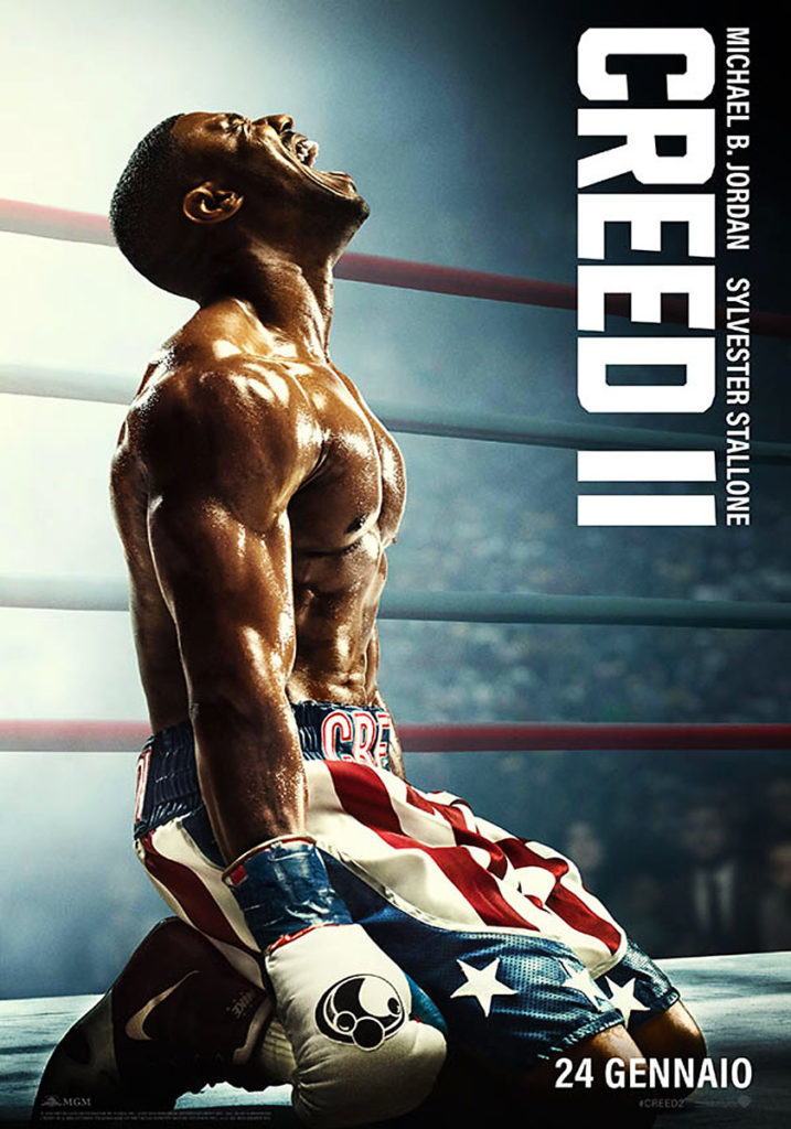 Creed 2 teaser poster