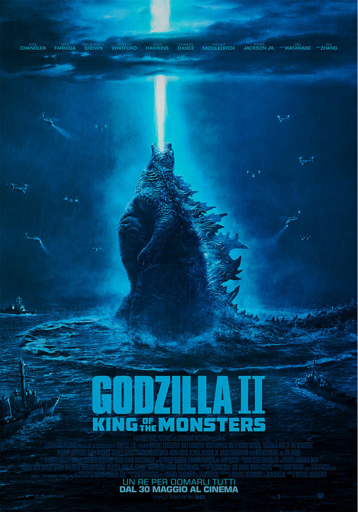 Godzilla II - King of the Monsters poster
