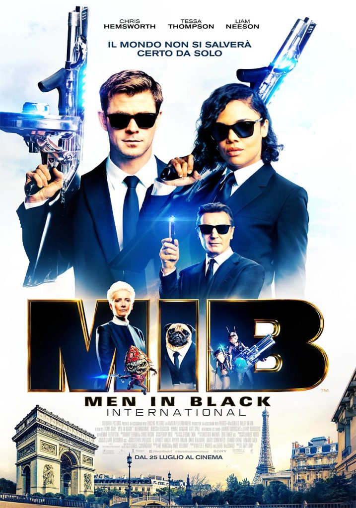 MIB - International poster