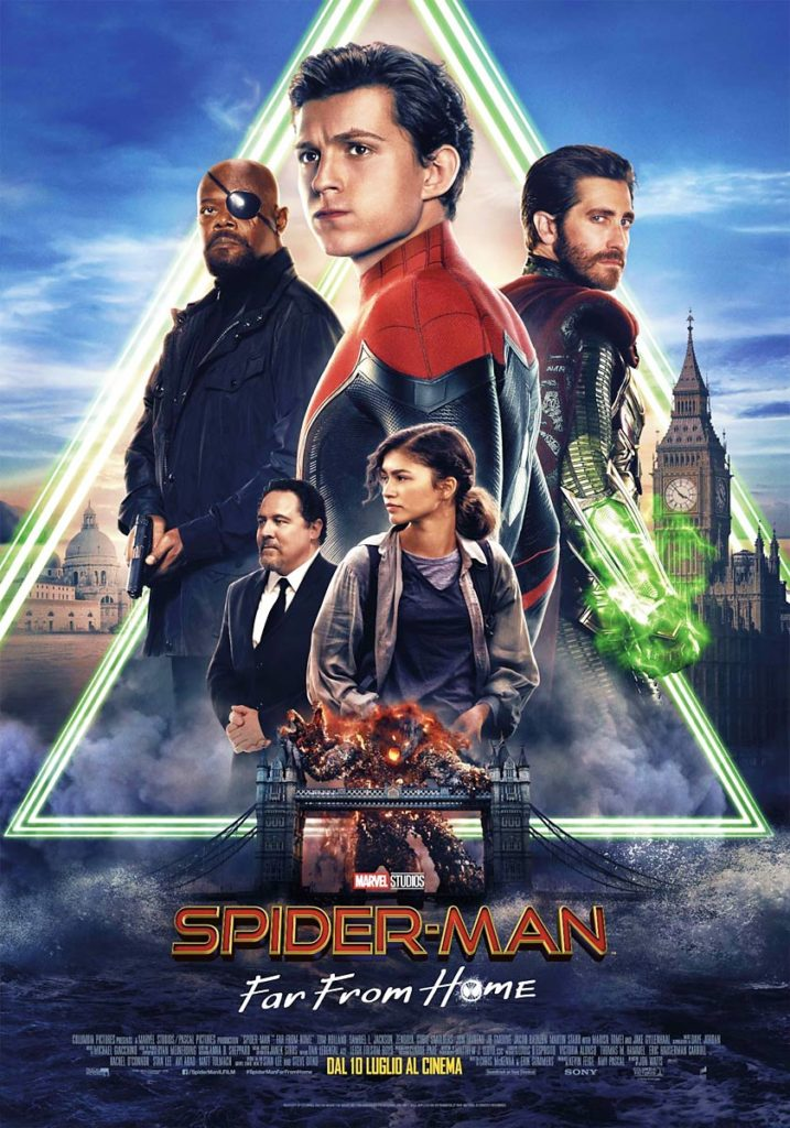 Spiderman - Far From Home poster